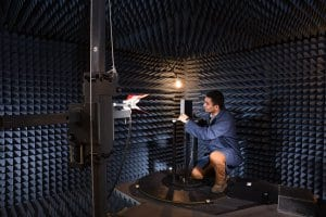 One of MET's Fully Anechoic Wireless Chambers